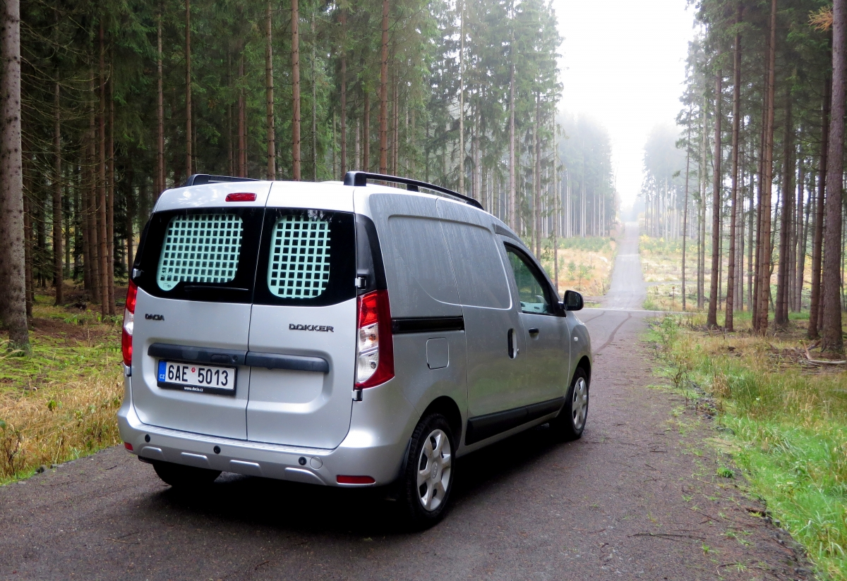 test dacia dokker van 1 5 dci auta iv. Black Bedroom Furniture Sets. Home Design Ideas