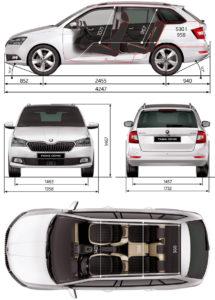 Škoda Fabia 2019