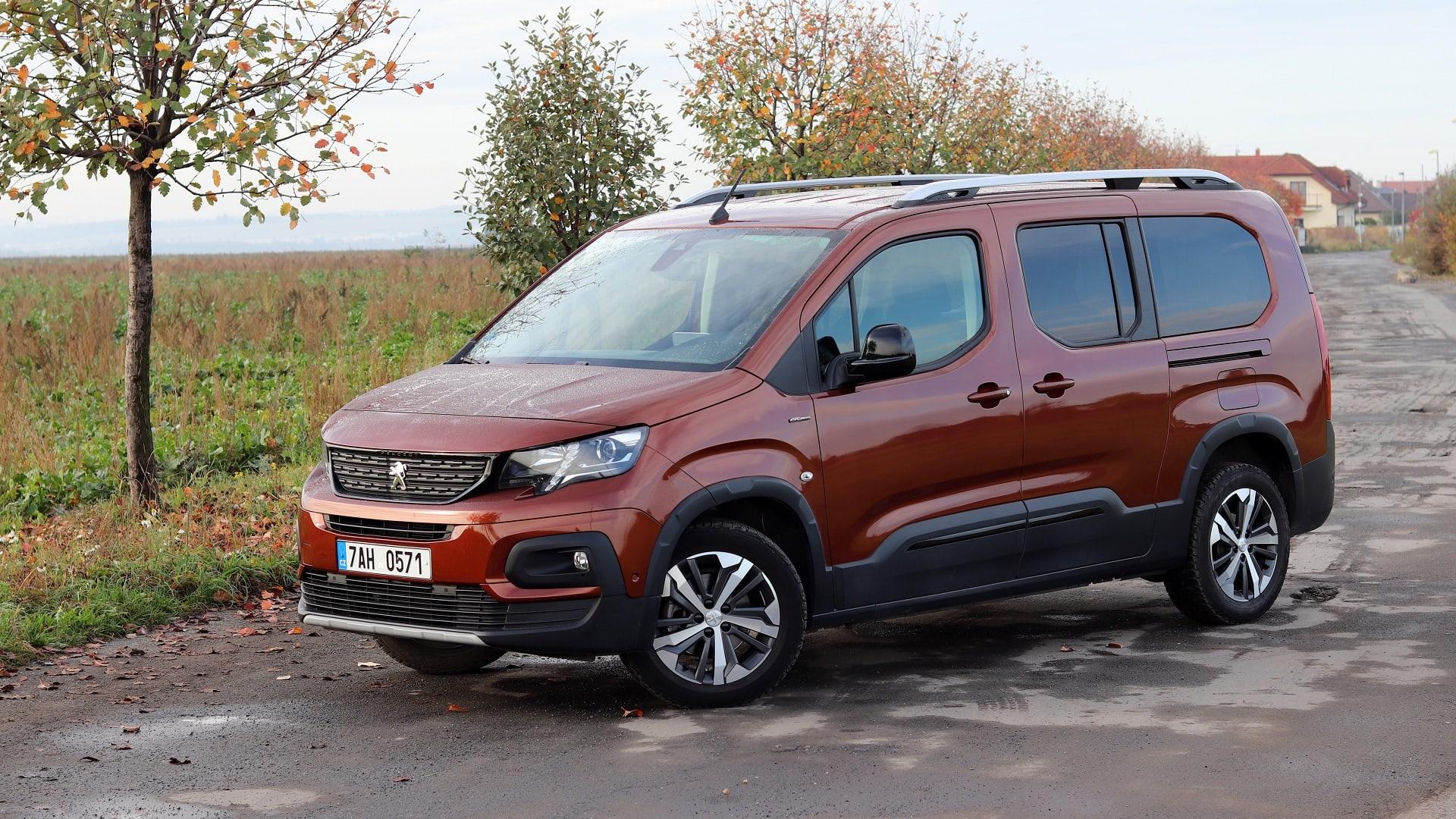 Recenze Peugeot Rifter Long 2020