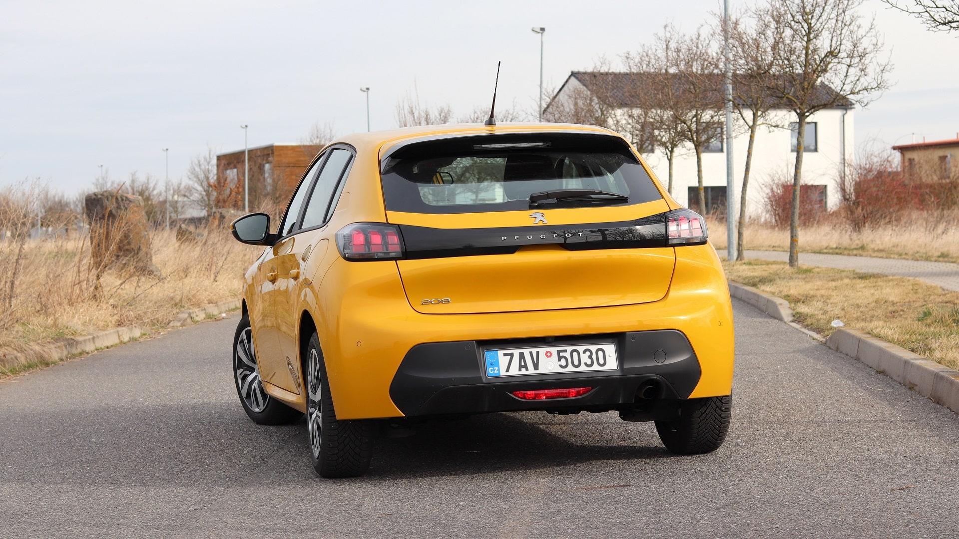nový Peugeot 208 active