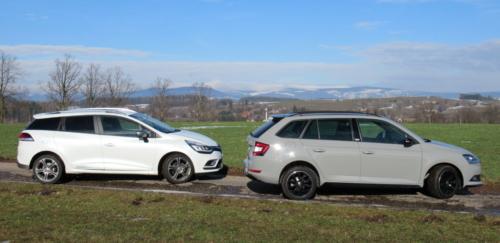 Škoda Fabia vs. Renault Clio (1)