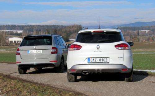 Škoda Fabia vs. Renault Clio (2)