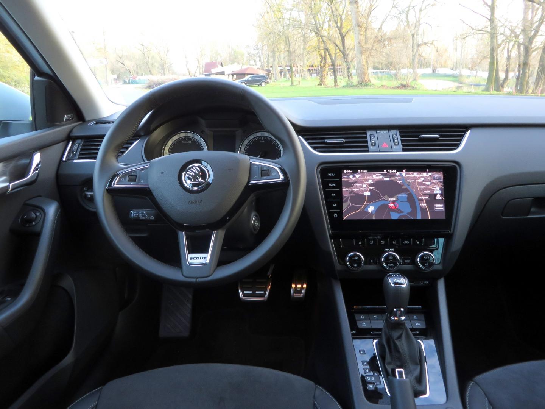 Škoda Octavia Scout 2,0 TDI 4x4 2017