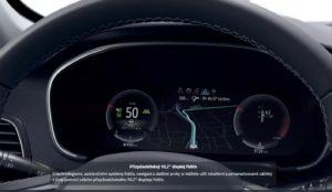 virtuální kokpit megane 2021